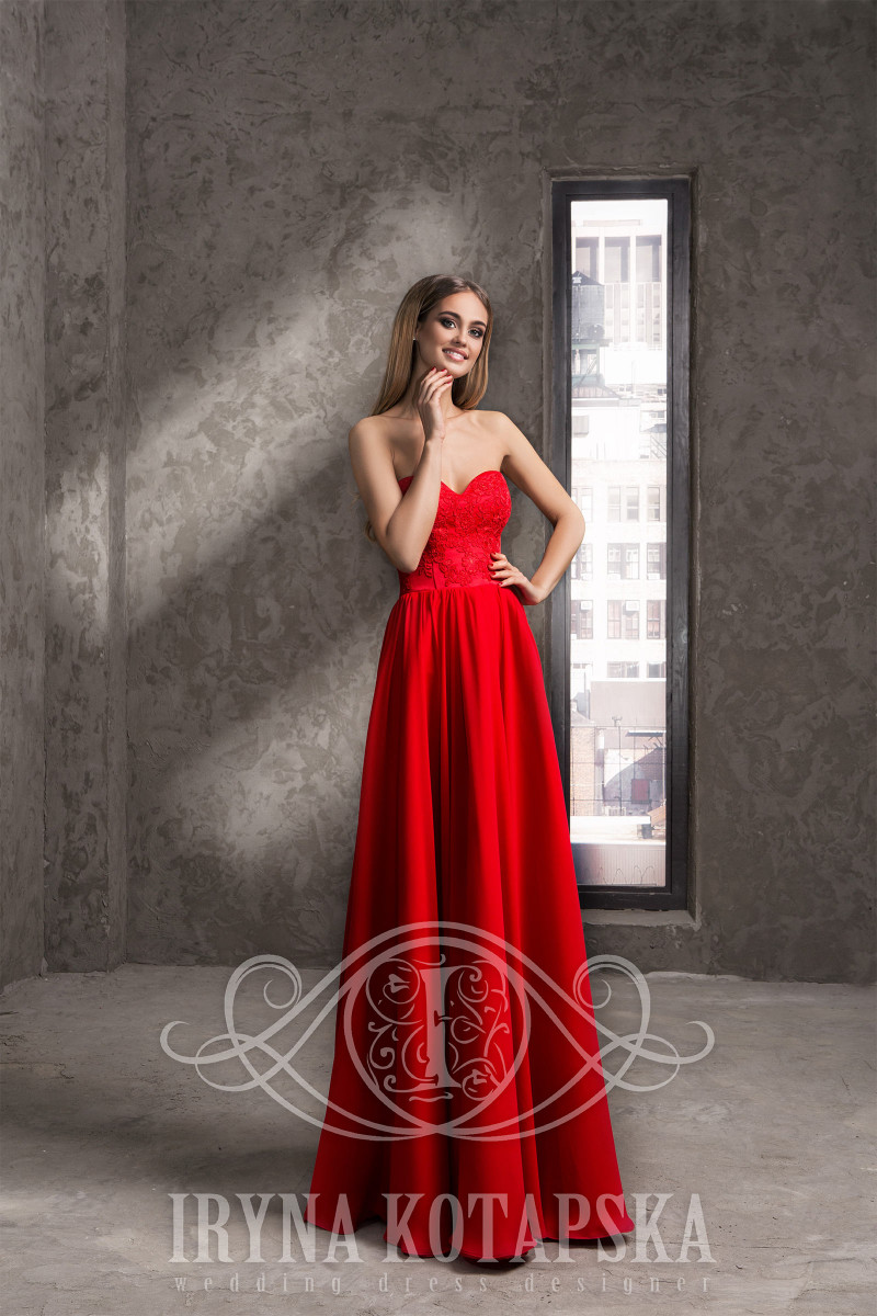 Evening dresses is made from chiffon wholesale cocktail in Chicago
