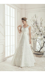 GERANIUM Bride's dress